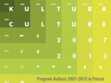 Program Kultura 2007-2013 w Polsce – analiza i podsumowanie [plik pdf, 3930 KB]
