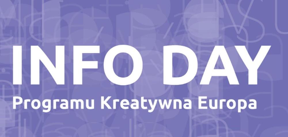 Info Day Programu Kreatywna Europa