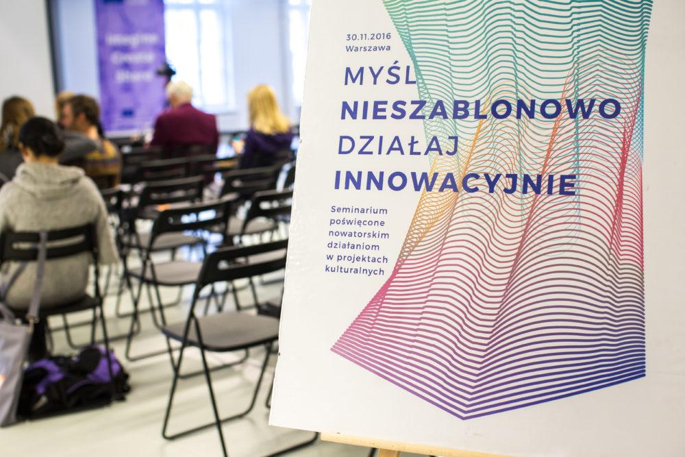 """Seminarium """"Myśl nieszablonowo, działaj innowacyjnie"""" za nami!"""
