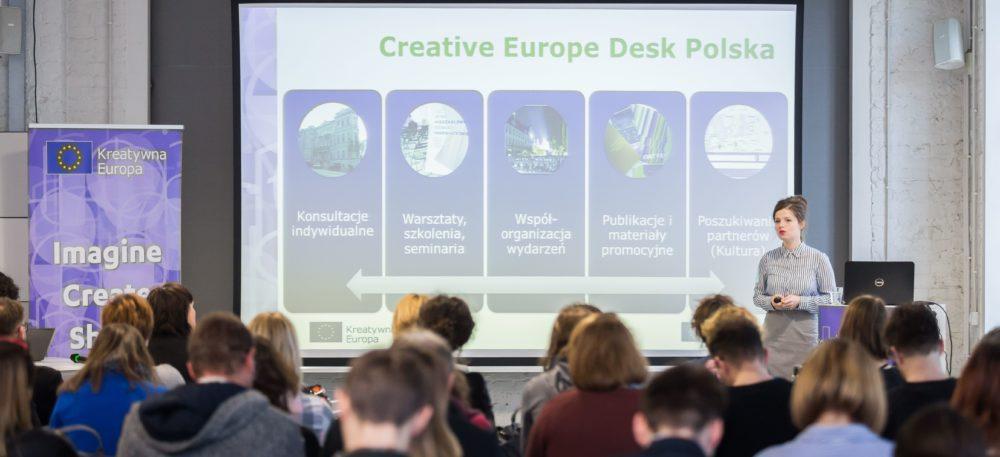 Spotkanie informacyjne programu Kreatywna Europa w Poznaniu – fotorelacja