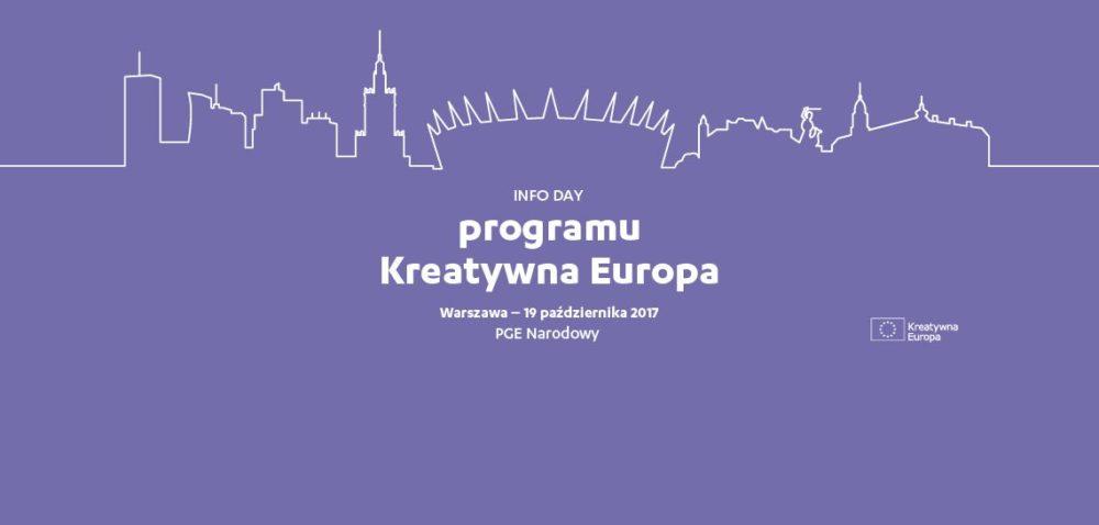 FORMULARZ ZGŁOSZENIOWY | INFO DAY PROGRAMU KREATYWNA EUROPA | 19 PAŹDZIERNIKA 2017 | WARSZAWA