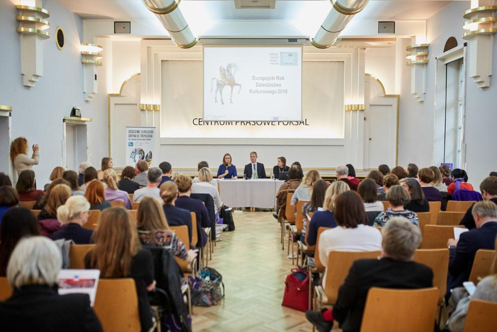 Relacja ze spotkania informacyjnego dotyczącego Europejskiego Roku Dziedzictwa Kulturowego 2018