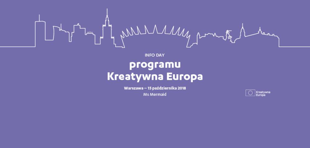 Info Day Programu Kreatywna Europa 2018