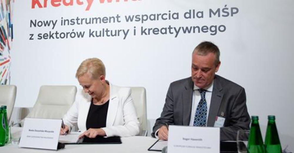 Instrument gwarancyjny dla sektorów kultury i kreatywnego programu Kreatywna Europa już w Polsce