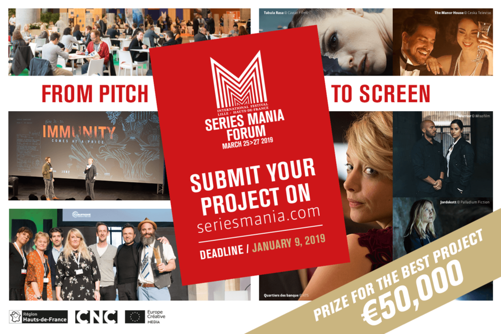 Trwa nabór na Co-Pro Pitching Session podczas Series Mania Forum 2019
