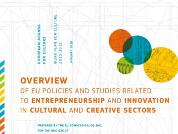 Overview of EU Policies and Studies Related to Entrepreneurship and Innovation in Cultural and Creative Sectors [plik pdf, 6539 KB]