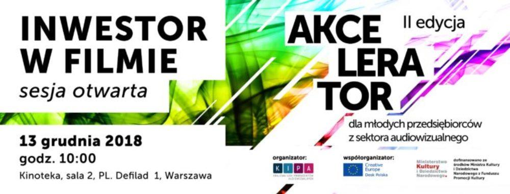 Sesja otwarta w ramach II edycji Akceleratora KIPA, 13 grudnia, Warszawa