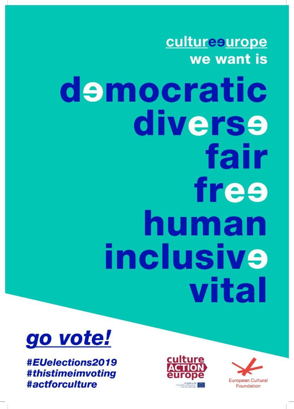 Kampania na rzecz kultury przygotowana przez Culture Action Europe