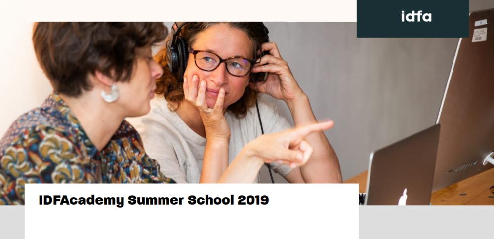IDFAcademy Summer School 2019