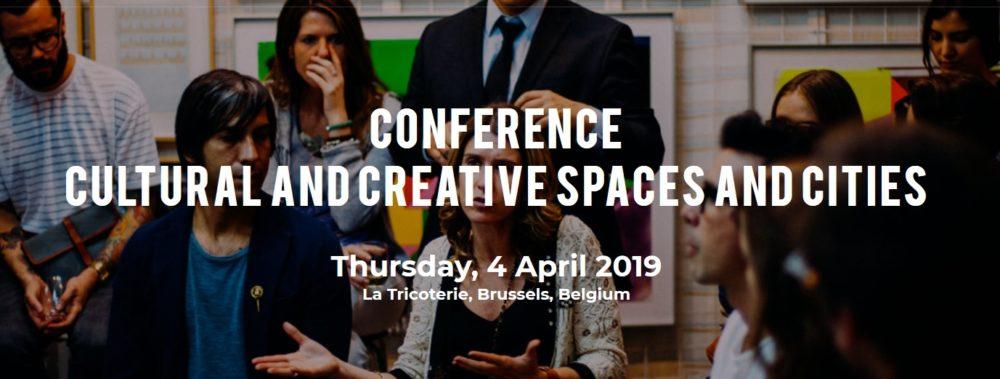 """Zaproszenie na konferencję otwierającą dwuletni projekt """"Cultural and Creative Spaces and Cities"""""""