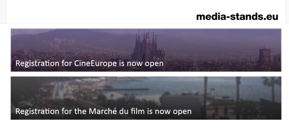 Otwarte zapisy na stoiska MEDIA w Cannes i Barcelonie