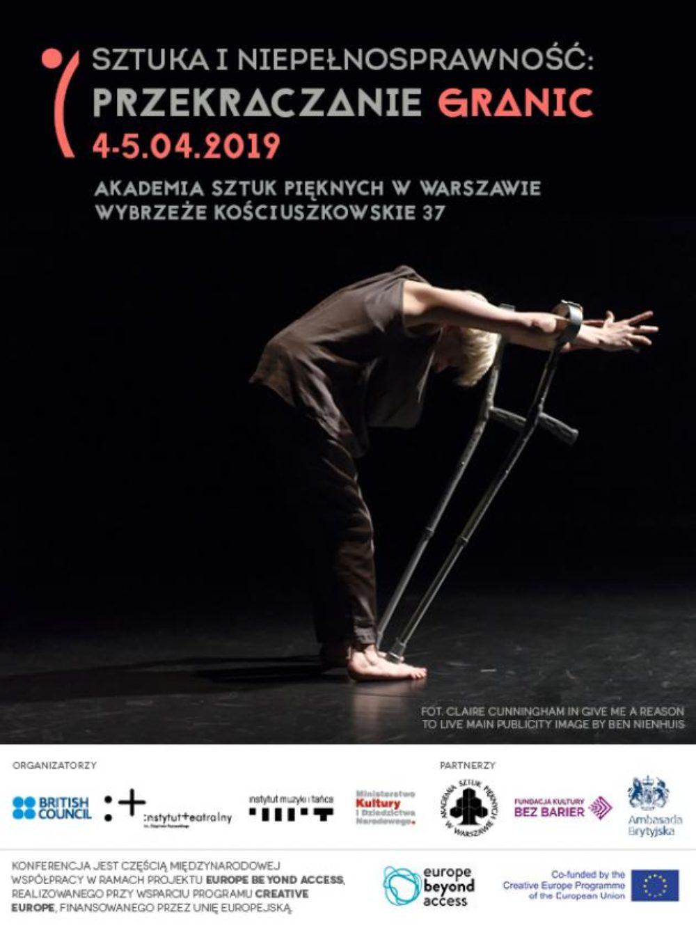 """Konferencja """"Sztuka i niepełnosprawność: przekraczanie granic"""" w ramach projektu """"Europe Beyond Access"""""""