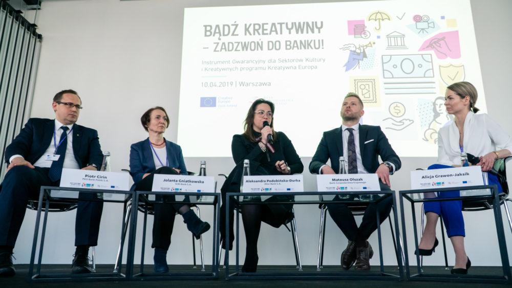 Nowe instrumenty finansowe wspierające sektory kreatywne, kultury i audiowizualny – raport z ewaluacji