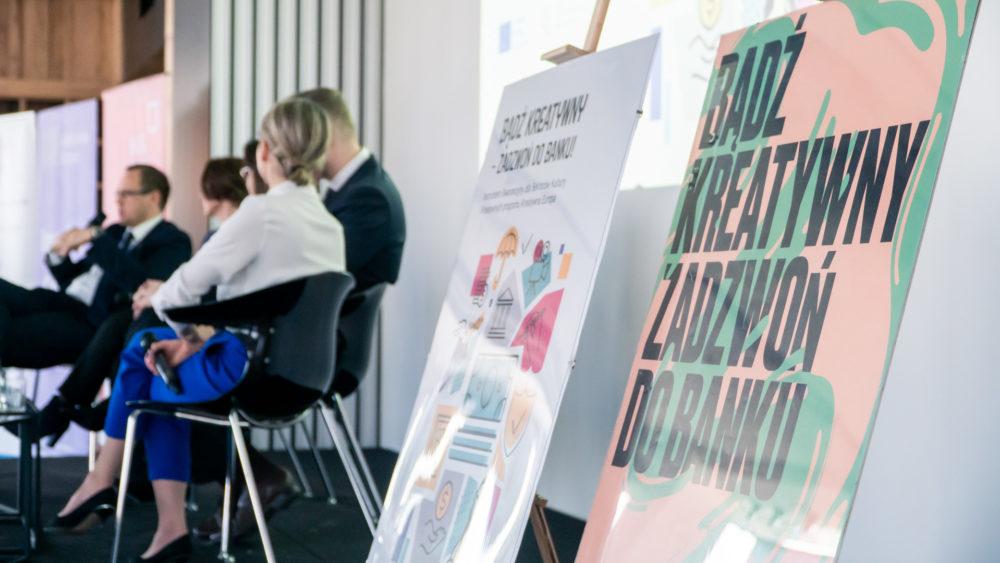 Spotkanie informacyjne Bądź kreatywny, zadzwoń do banku, 10 kwietnia w Warszawie  – fotorelacja