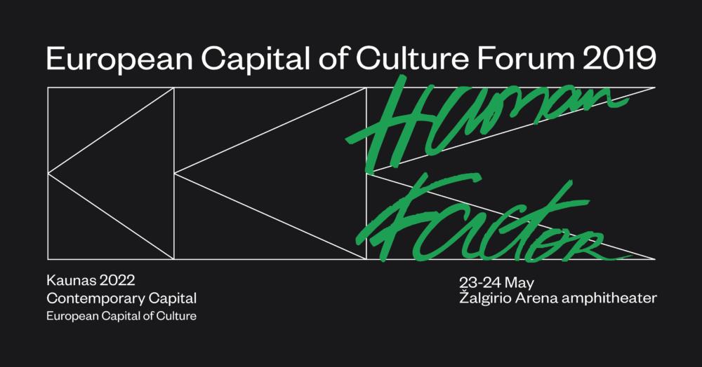 """Kowno – Europejska Stolica Kultury 2022: zaproszenie do udziału w """"European Capital of Culture Forum 2019″"""