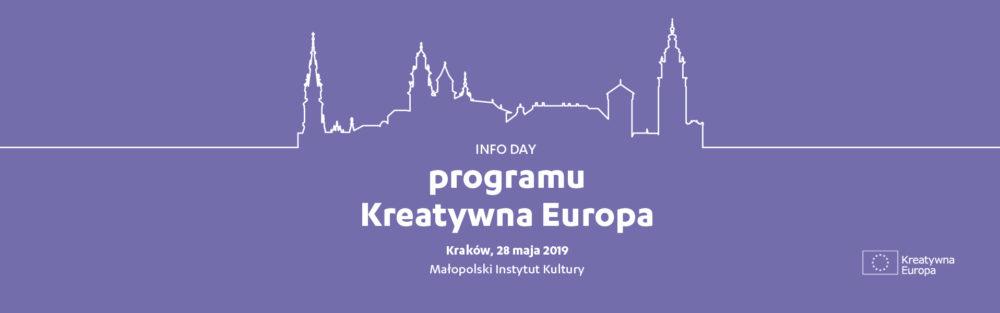Info Day programu Kreatywna Europa w Krakowie już 28.05!