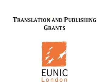 Translation and Publishing Grants (London Book Fair 2019)