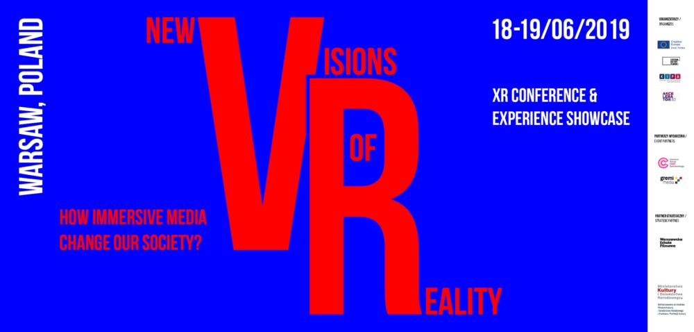 Przedstawiamy panelistów Kreatywnej Europy podczas konferencji 'New Visions of Reality'