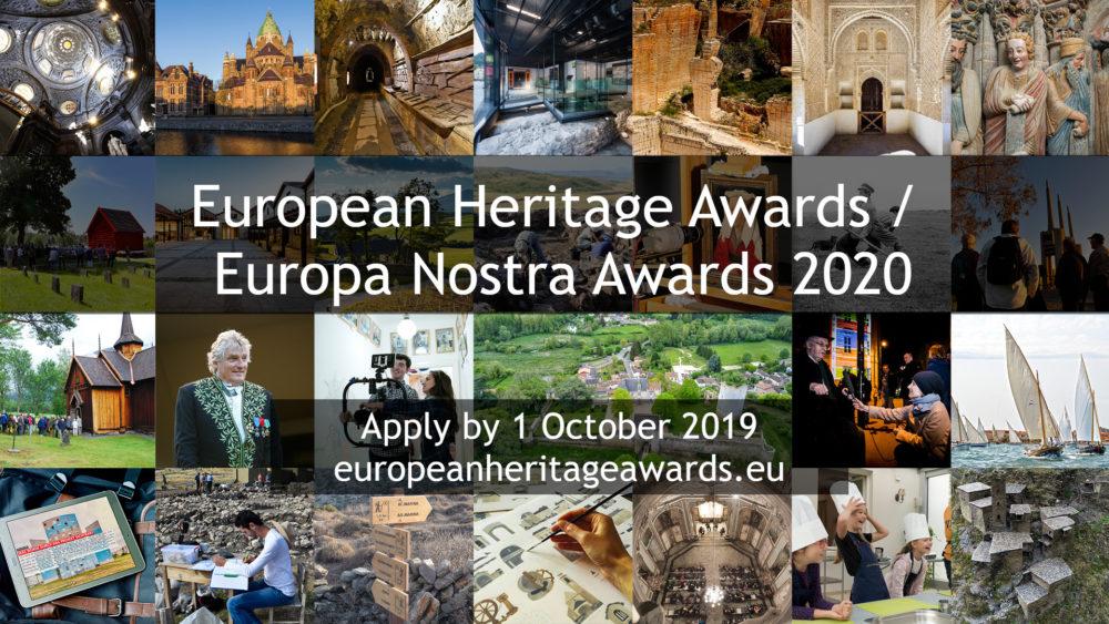 Do 1 października trwa nabór wniosków na Europa Nostra Awards 2020