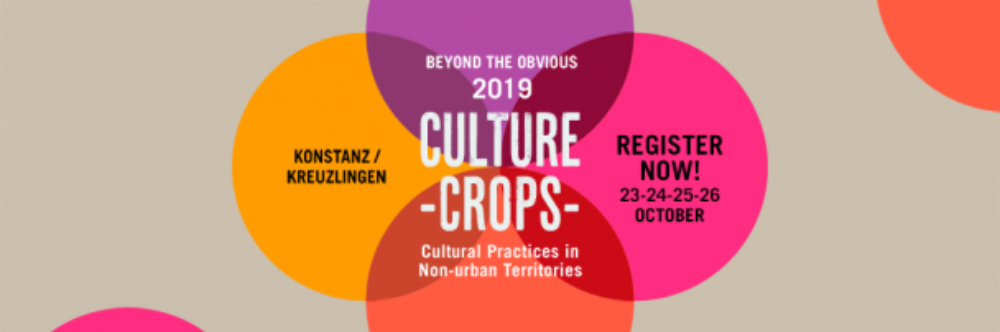 "Konferencja ""Culture Crops: Cultural Practices in Non-Urban Territories"" w ramach działań sieci Culture Action Europe"