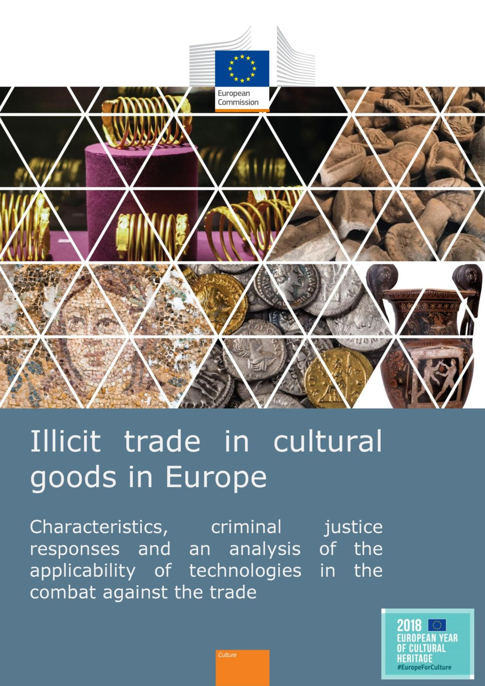 Raport: Illicit trade in cultural goods in Europe