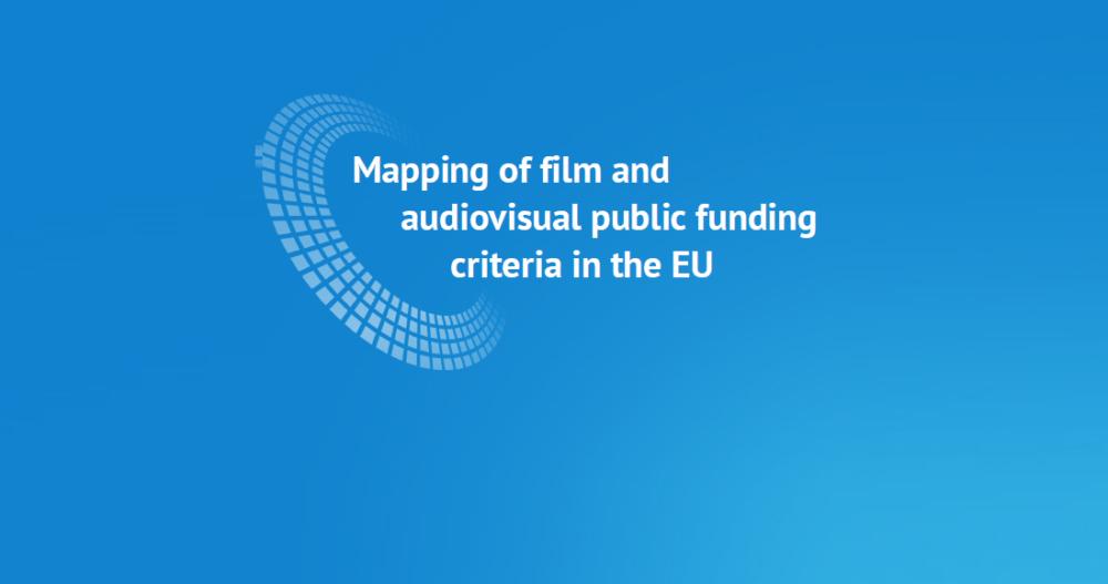 """Mapping of film and audiovisual public funding criteria in the EU"" – publikacja Europejskiego Obserwatorium Audiowizualnego"