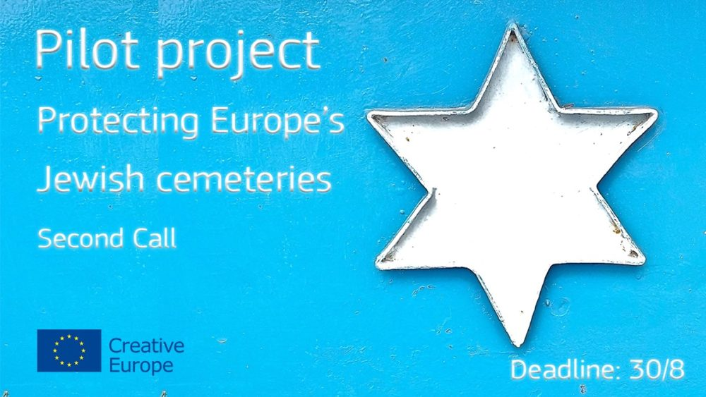 "Konkurs na projekt w obszarze  ""Protecting the Jewish cemeteries of Europe"""