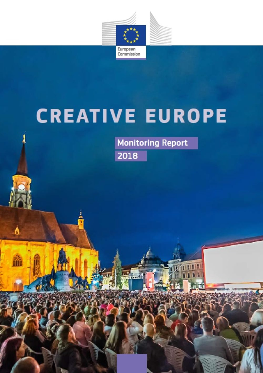 Raport Komisji Europejskiej z realizacji zadań i priorytetów programu Kreatywna Europa w 2018 roku