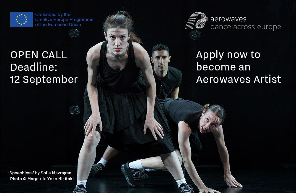 """Platforma europejska """"Aerowaves"""" zaprasza młodych choreografów do zgłaszania swoich prac"""