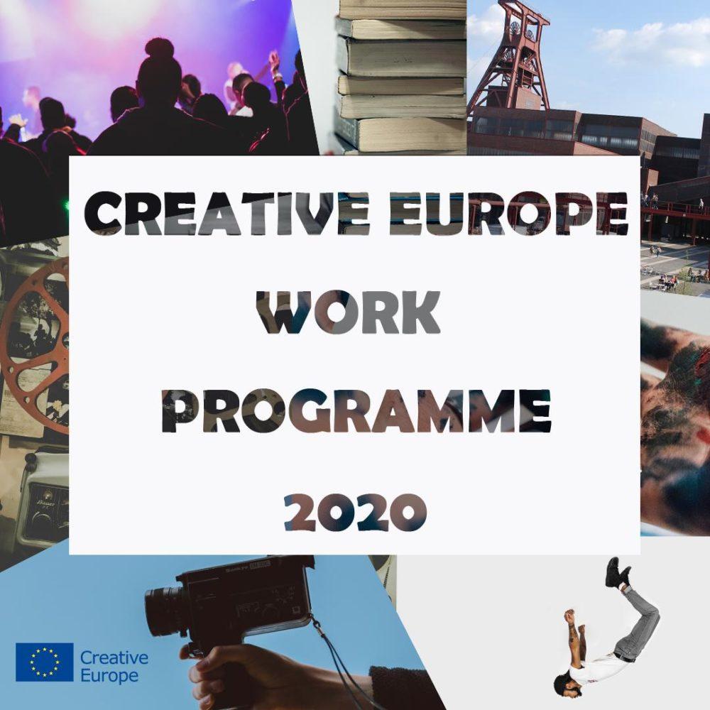 Plany dla komponentu Kultura programu Kreatywna Europa na 2020 rok
