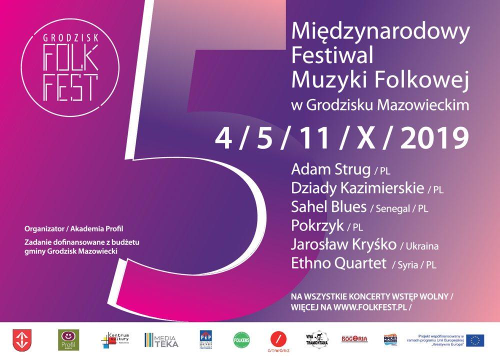 5. Międzynarodowy Festiwal Muzyki Folkowej w Grodzisku Mazowieckim