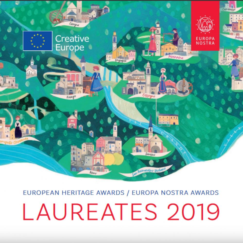 Laureaci Nagrody Europa Nostra 2019