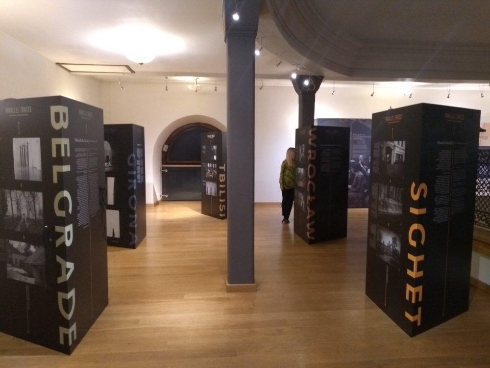 Parallel Traces – Dziedzictwo żydowskie w nowej perspektywie: wystawa prac zrealizowanych w ramach projektu