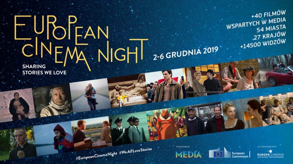 2. edycja European Cinema Night, 2-6 grudnia