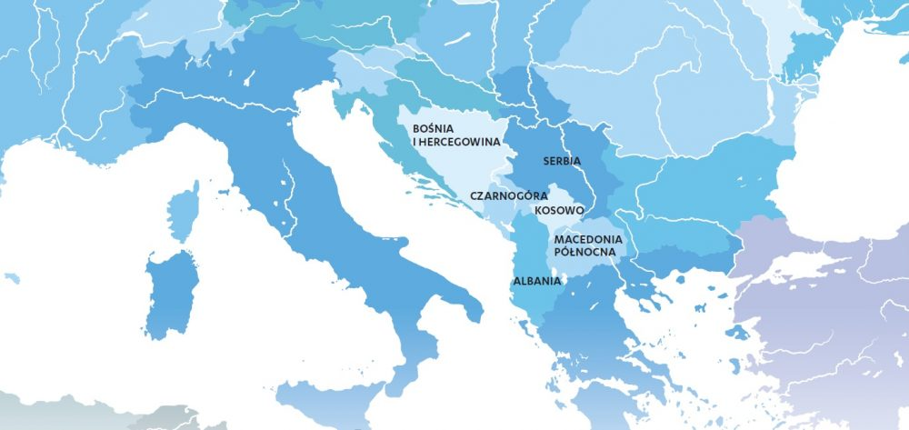 Projekty współpracy z krajami regionu Bałkanów Zachodnich