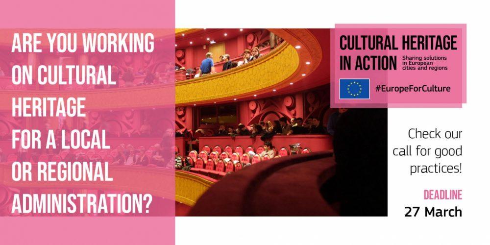 """Webinarium dotyczące naboru projektów w ramach programu """"Dziedzictwo kulturowe w działaniu"""""""