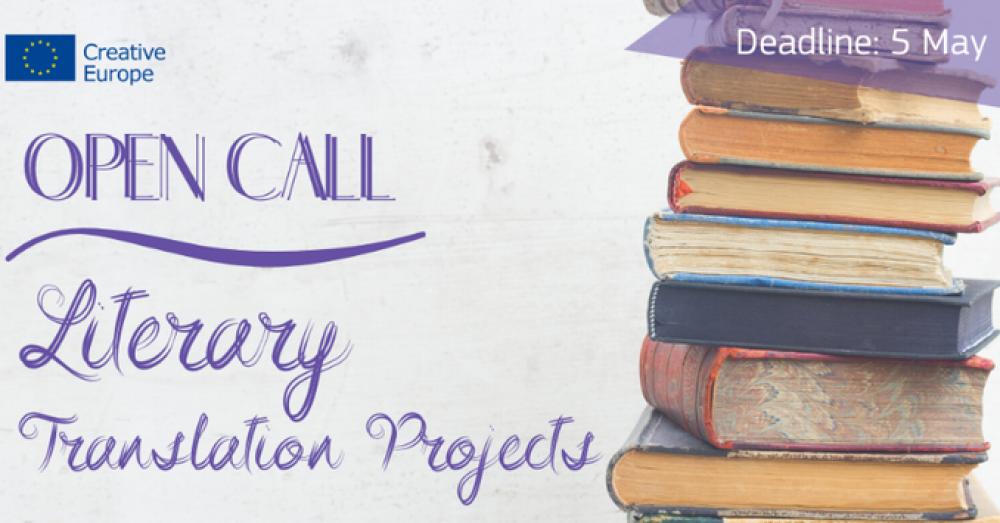 Konkurs w obszarze grantowym Tłumaczenia literackie – nabór wniosków do 5 maja 2020 r.!