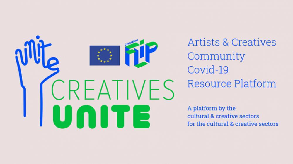 Creatives Unite – platforma internetowa dla interesariuszy sektorów kultury i kreatywnego w związku z COVID-19