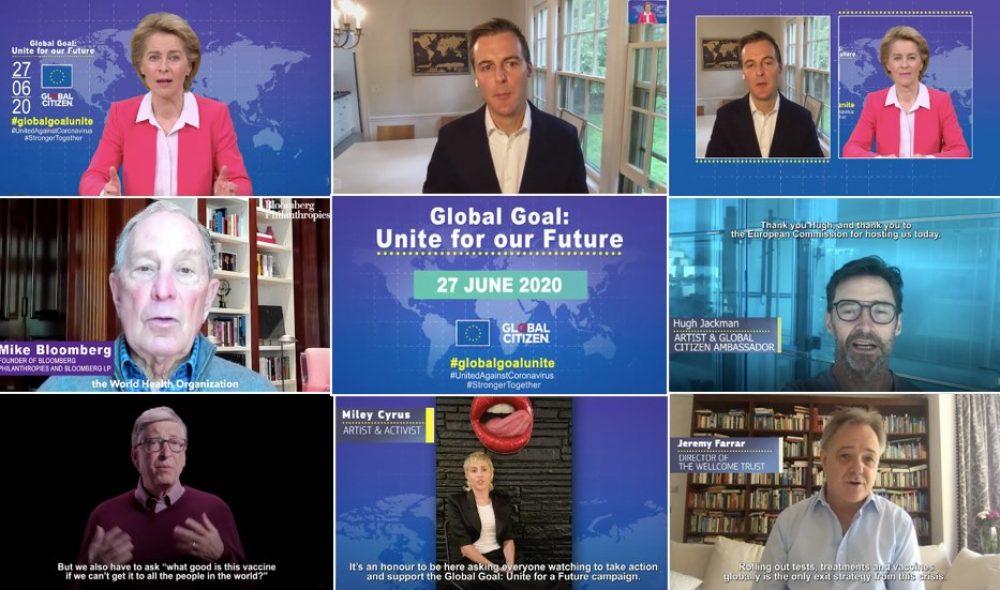 """Szczyt światowych przywódców """"Global Goal: Unite for Our Future"""" – 27 czerwca 2020 r."""