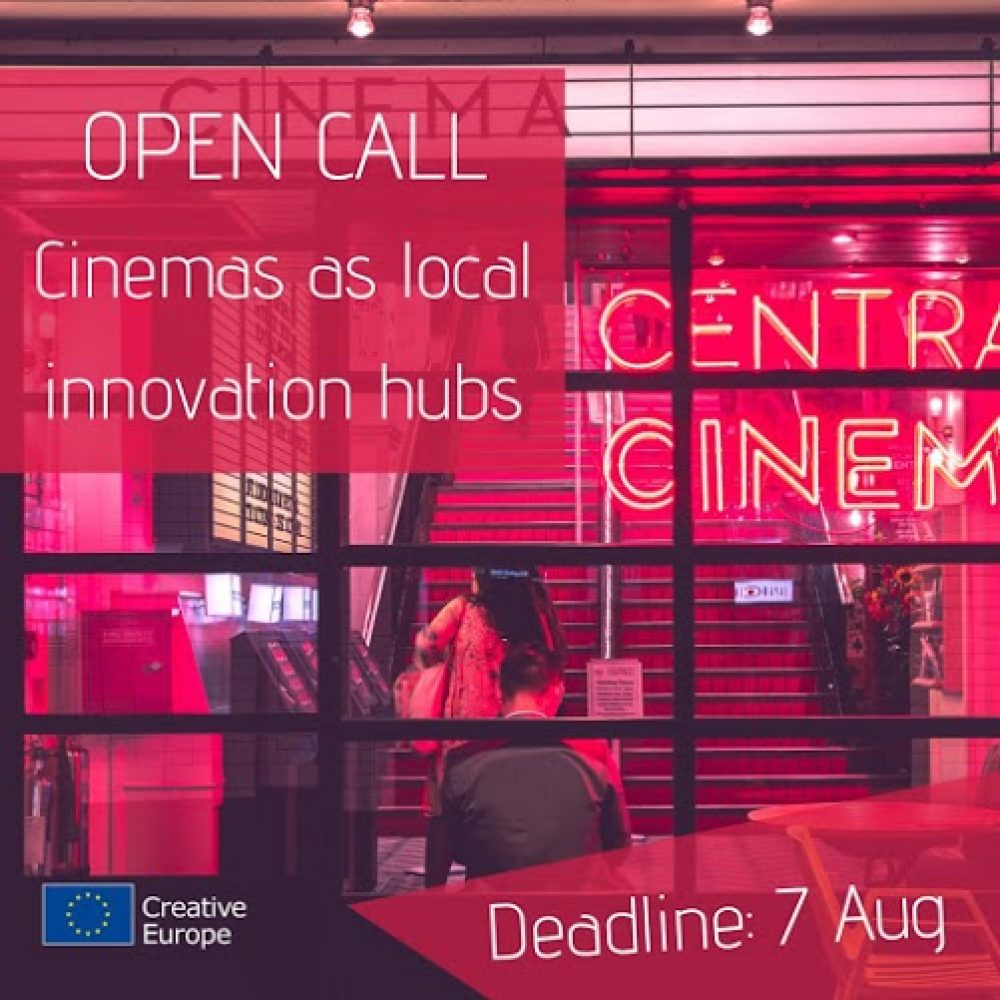 """Międzynarodowa sesja pitchingowa mająca na celu znalezienie partnera w ramach działania przygotowawczego """"Cinemas as Innovation Hubs for Local Communities"""""""