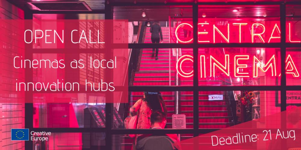 """Drugi nabór wniosków w ramach działania przygotowawczego """"Cinemas as Innovation Hubs for Local Communities"""""""