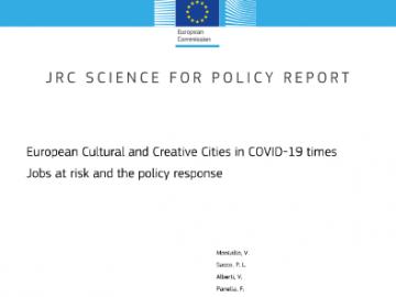Raport na temat wpływu COVID-19 na europejskie sektory kultury i kreatywny [plik pdf, 7472 KB]