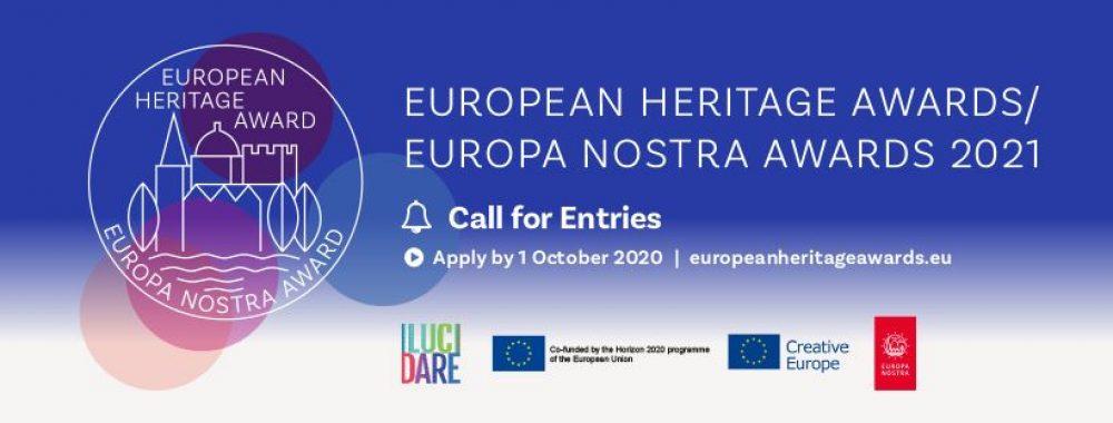 """Webinarium """"Jak przygotować wniosek do Nagród Dziedzictwa Kulturowego Europa Nostra 2021"""""""