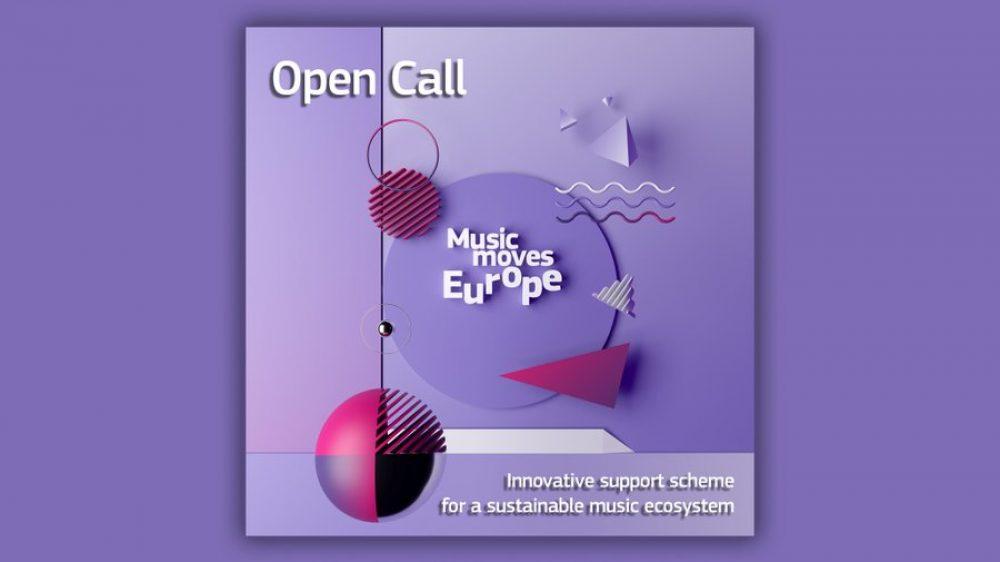 "Nabór projektów w ramach pilotażu Music Moves Europe ""Innovative support scheme for a sustainable music ecosystem"""