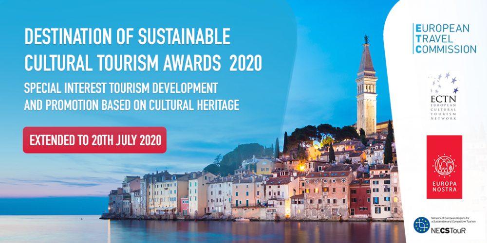 Nabór zgłoszeń do Nagrody Zrównoważonej Turystyki Kulturalnej 2020 przedłużony do 20 lipca br.!