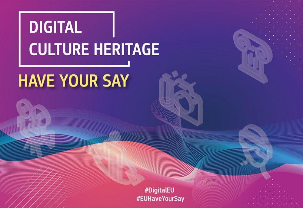 Konsultacje publiczne dotyczące dostępu cyfrowego do europejskiego dziedzictwa kulturowego