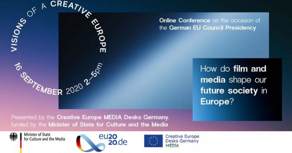 "Zaproszenie na konferencję ""VISIONS OF A CREATIVE EUROPE"""