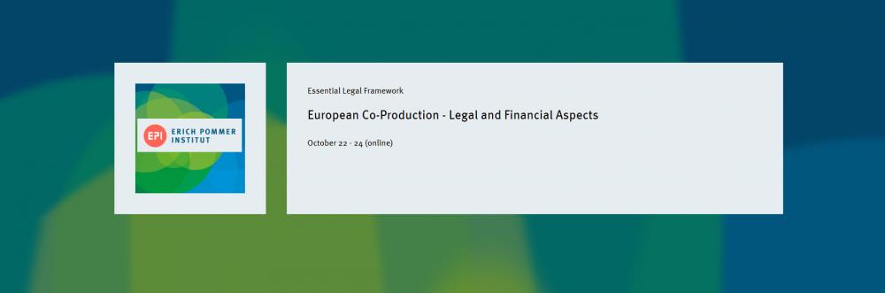 Ostatnie dni zapisów na szkolenie European Co-Production – Legal and Financial Aspects