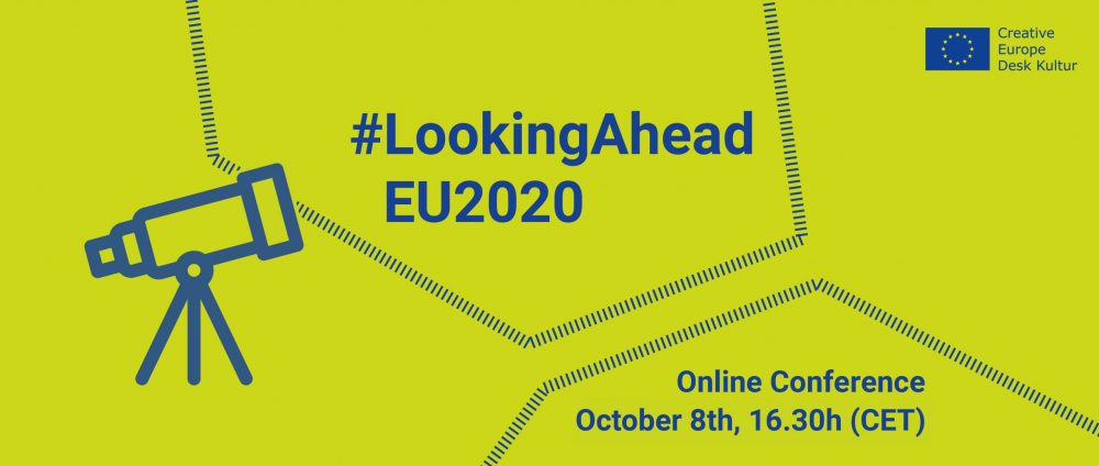 """Konferencja """"Looking Ahead. New Opportunities and Visions within EU Funding for Culture after Covid-19"""" 
