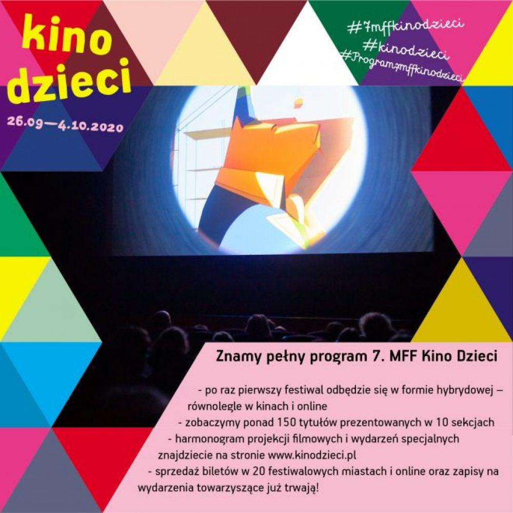 Poznaliśmy program 7. Międzynarodowego Festiwalu Filmowego Kino Dzieci